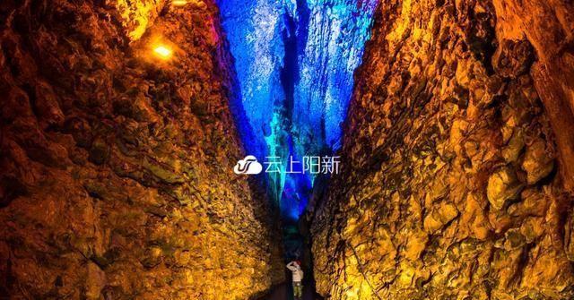 """9月28日""""枫林·地心大峡谷""""开放接待游客 阳新再添网红打卡圣地"""