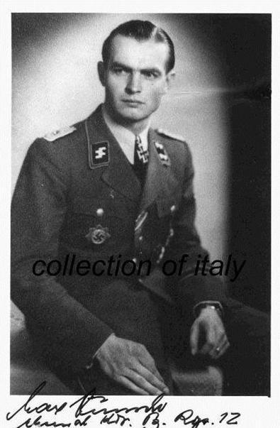 #击毁#二战德军王牌指挥官马克思・温舍上校卡昂之战击毁盟军两百辆坦克