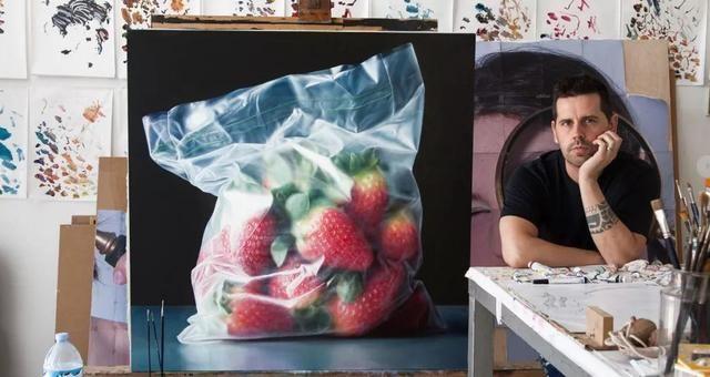 把食物画成这样!你确定这些画家不是吃货?