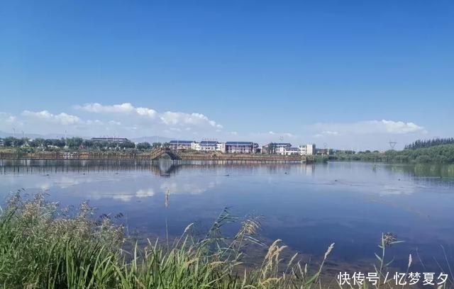 张掖黑河湿地成为保护生态安全的天然屏障