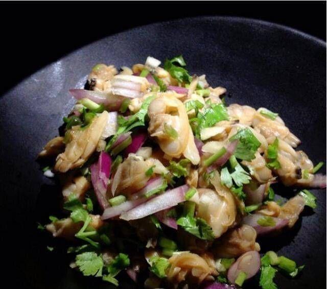 【辣椒】莲藕烧排骨、凉拌蚬子肉、黑木耳炒黄花菜