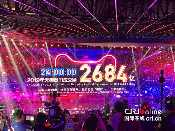 """2019""""双11""""全球购物狂欢节再创新纪录"""