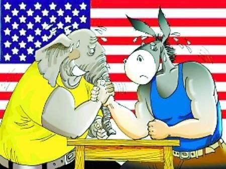 """美国的""""党派""""歧视?"""