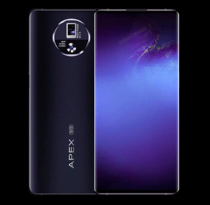 【APEX】vivo第三代APEX概念手机渲染图现身