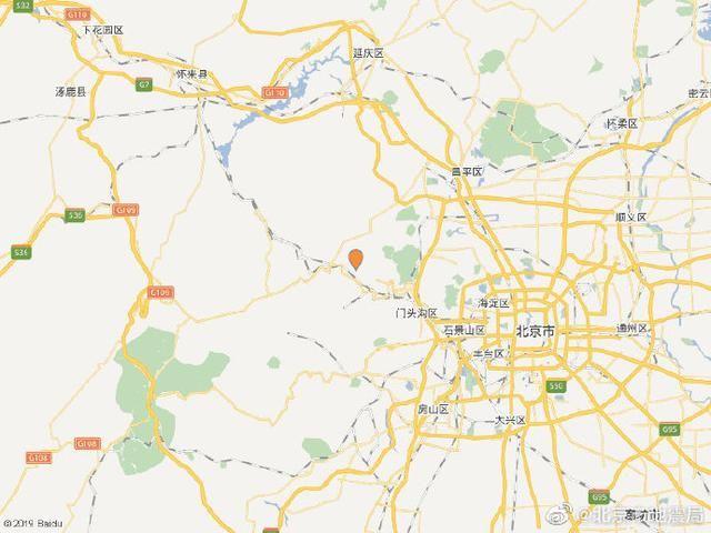 深夜|门头沟深夜发生3.6级地震 市地震局负责人带队赶赴震中