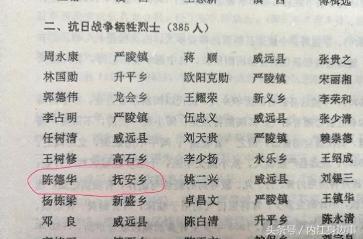 内江生活|告慰英魂!台儿庄战役内江威远籍英烈陈德华亲人找到了