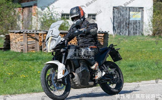 KTM 790 Adventure T版谍照曝光 风挡面积更大