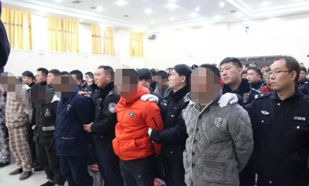 沈丘警方打掉40余名涉黑团伙,主犯一审被判25年!
