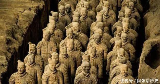 秦始皇陵兵马俑为何没有武器,是否被盗?历史上这三个人最可疑