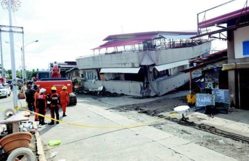 菲律宾发生里氏6.9级地震,帕达达市已经宣布进入灾难状态