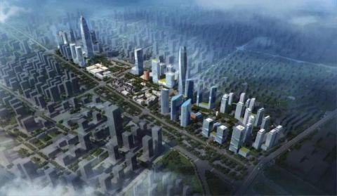 31万平方米!石家庄中央商务区建设全面复工!