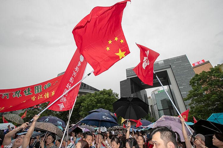 """""""乱够了""""!具良知香港人的共同心声"""