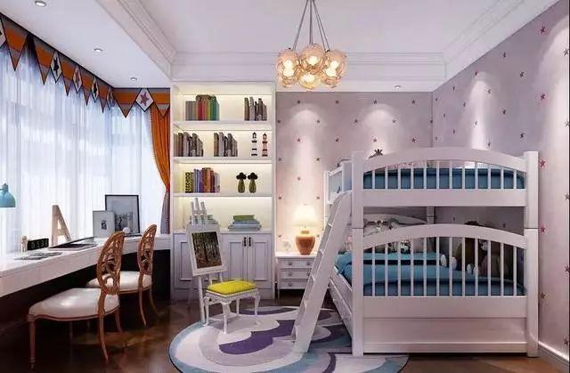 儿童房应怎样装?理想的设计应是休息、学习、玩耍、收纳都兼具!