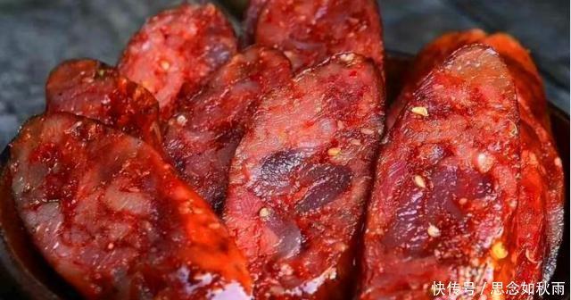 『做出来的香』又到做香肠的时候了,此方法在家就能做,大块肉粒肥瘦相间,真香
