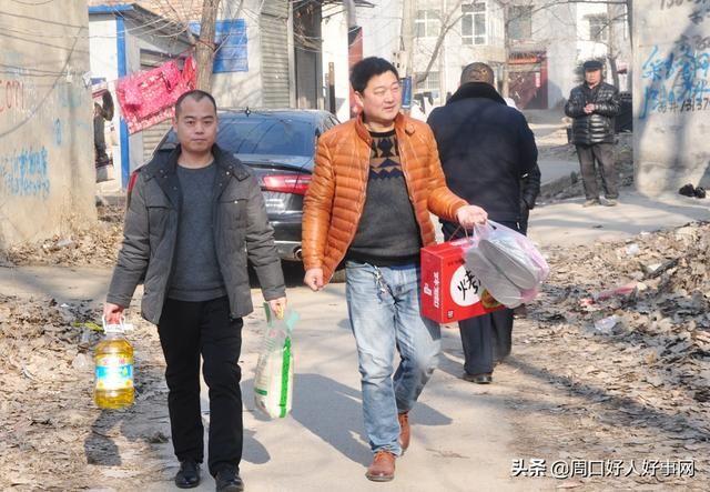 周口锦青建材公司寒冬开展送温暖活动