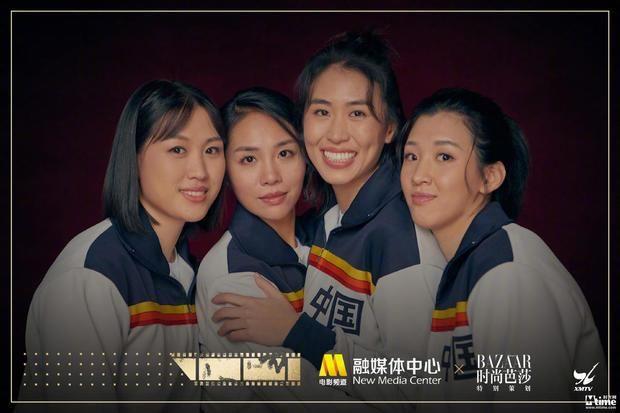 《中国女排》四位90后姑娘拍摄写真