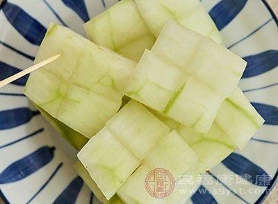 「食用冬瓜能」冬瓜的功效 多吃这种蔬菜能帮助减肥