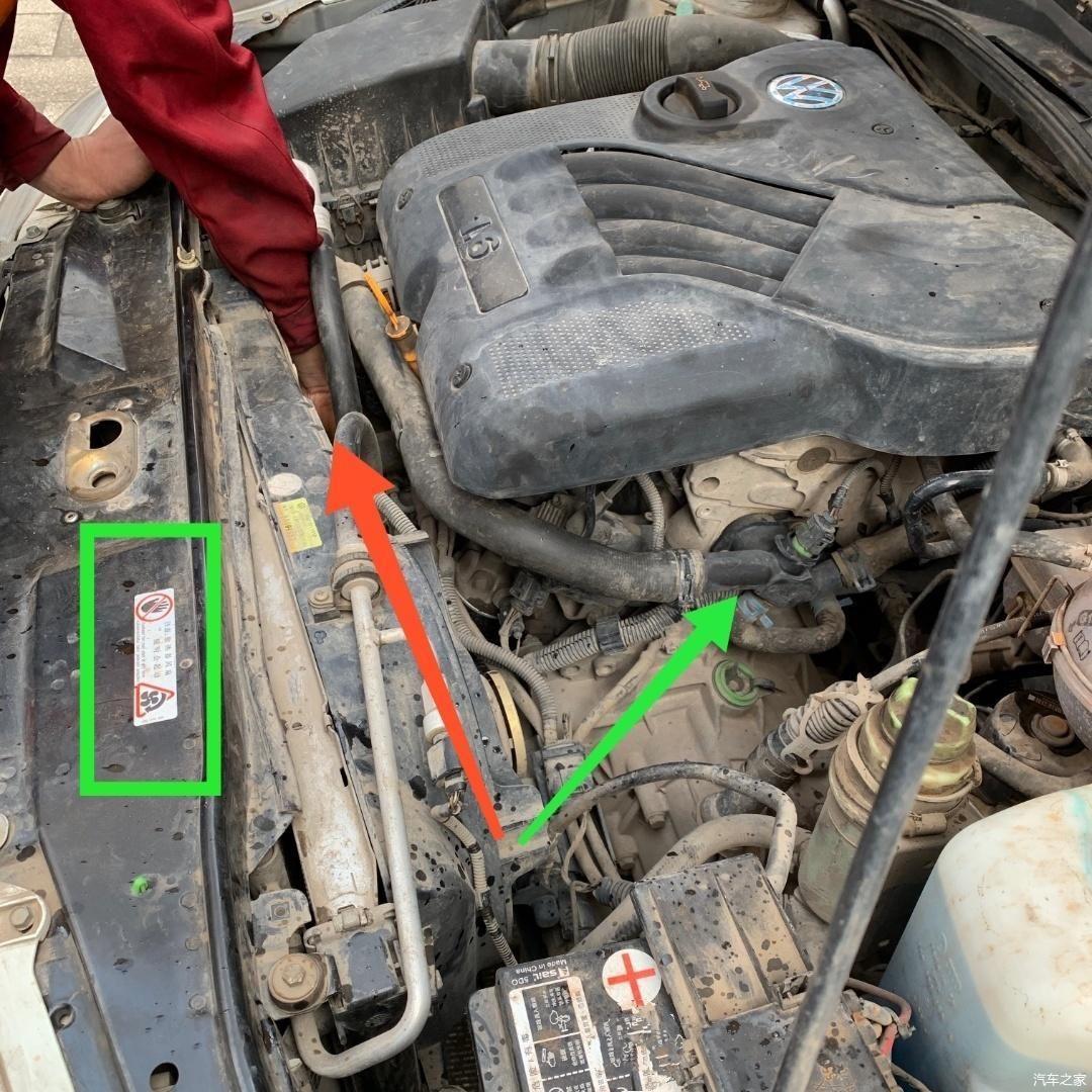 发动机高温报警,检修冷却系统时,喷出的防冻液让车主感到后怕!