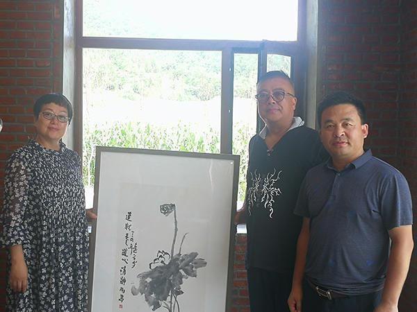 文化龙江行中国文化艺术名家走进阿城天问山