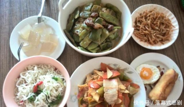 「凑合」悠闲的一人餐,也别凑合哈,炒二菜味道也可以和大厨媲美!