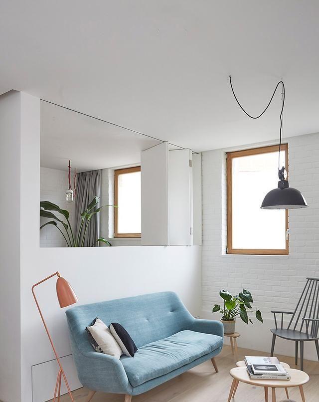 """6米层高复式房,安装个楼梯,假装拥有地下室,我家也是""""豪宅"""""""