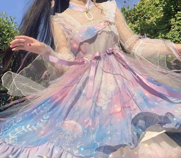 选一款你最喜欢公主裙,第一天上学穿,测班里男生喜欢你身上哪点