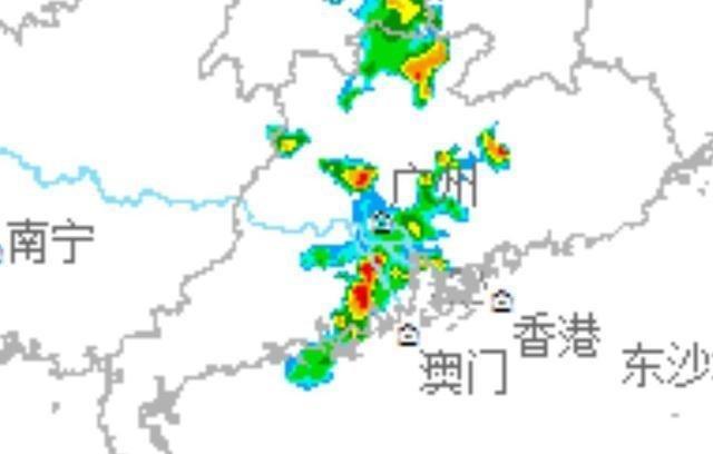 广东大雨突发来袭大范围中到大雨中雨大雨将落在以下地区!