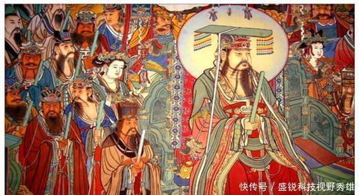 『皇帝』民谣里有两个秦始皇,真的得道成仙,假的当上皇帝