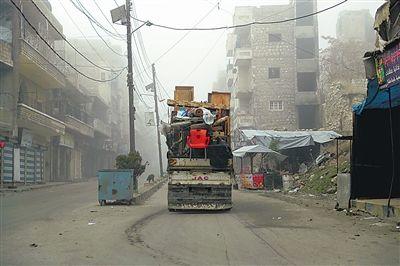 叙政府军收复叙西北部40多个村镇