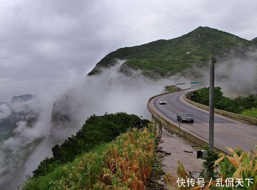 世界上最高的大桥,相当于200层楼高,犹如架在云上