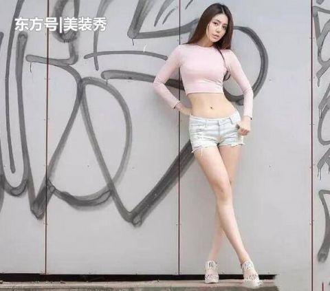 青春洋溢的高跟鞋美女,尽显亭亭玉立的美感!插图(5)