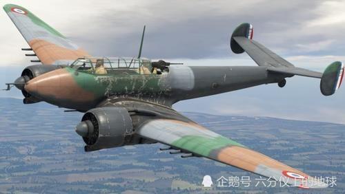 「波泰」二战兵器全集,法国波泰631夜间战斗机