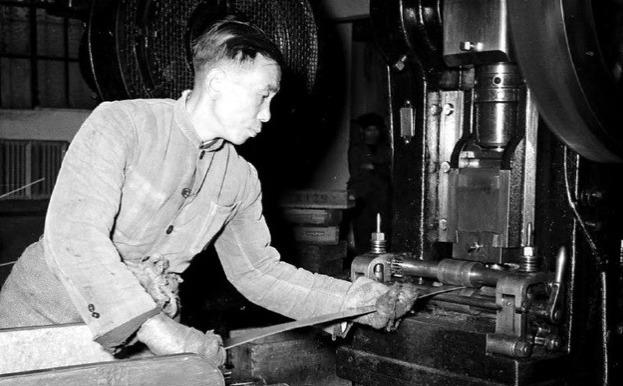 罕见@1940年上海造钱厂,罕见的老照片,请您欣赏