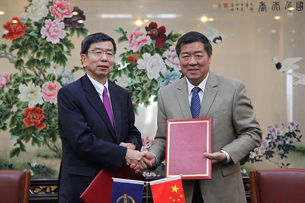 何立峰主任会见亚洲开发银行行长中尾武彦并签署支持乡村振兴的合