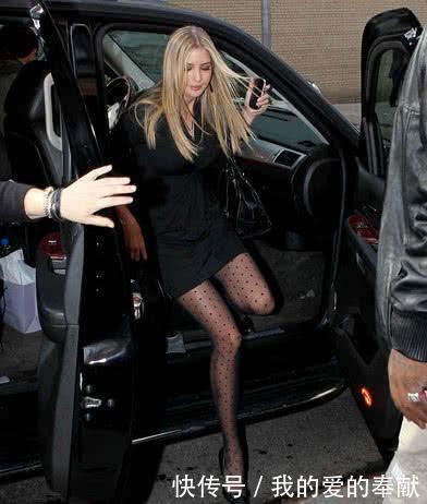 当看到伊万卡穿上短裙黑丝,你就会知道什么叫作女人味!