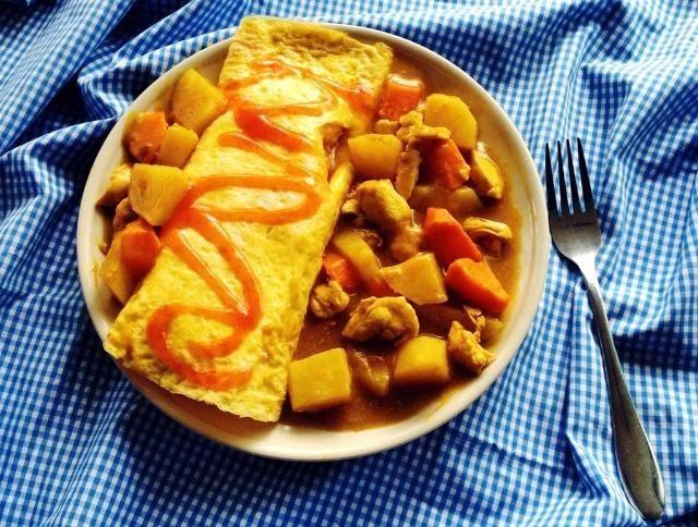 #蛋包饭#咖喱蛋包饭不入味,厨师说漏嘴:按照这个方法做,美味可口