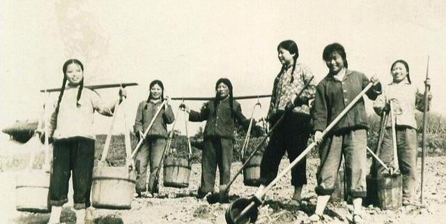 70年代老照片:让人怀念的生产队时期,每一张照片都充满了历史感