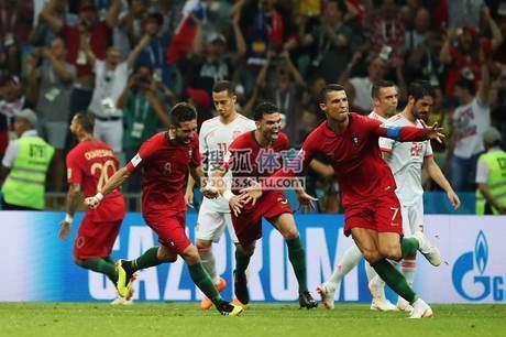 组图:世界杯悲喜时刻 C罗首秀带帽后哑火遭淘汰