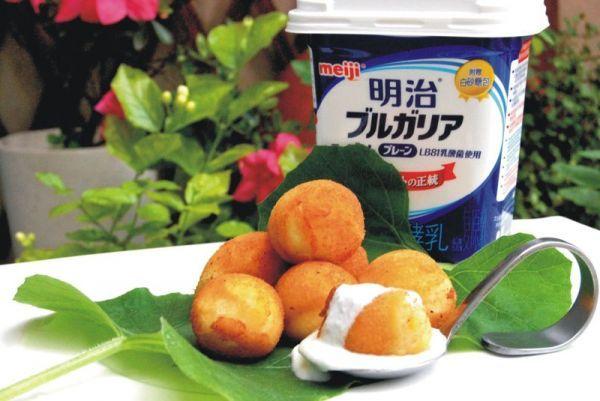 [酸奶]酸奶伴土豆芝士球