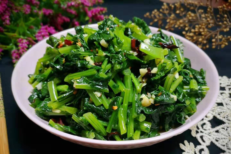[开胃]这菜,不懂吃叶子就亏了,叶酸含量高出根的10倍,简单一拌特开胃