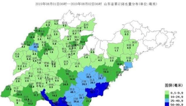 山东7月雨少温高 未来三天全省多雷雨