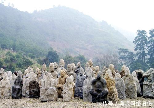 湖南一深山封禁700年,藏有万尊鬼崽石像,比秦兵马俑还要大规模