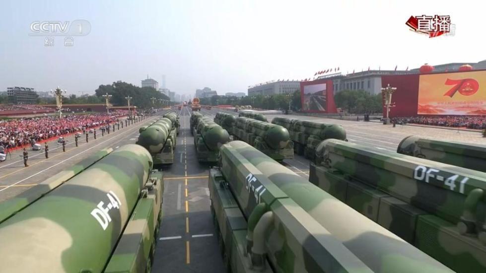 激动!庆祝新中国成立70周年大会阅兵式上这些装备震撼亮相