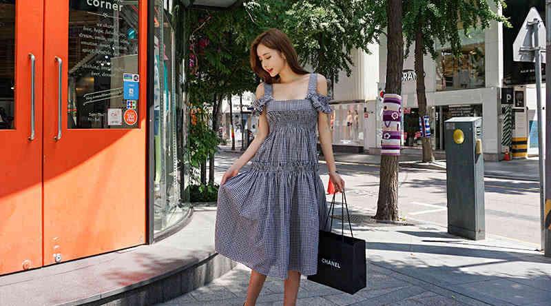 森女系连衣裙,千格鸟的经典永远不会过时,美丽与魅力完全并存 森系搭配 第5张