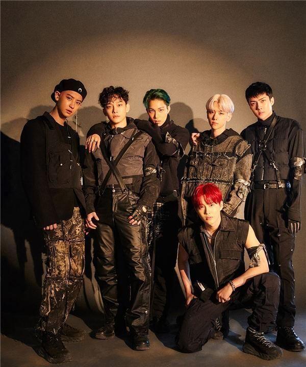 EXO名副其实 以正规6辑《OBSESSION》席卷各大专辑周榜第一