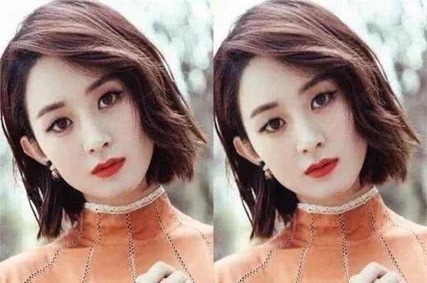 『鹿晗』当明星们没了双眼皮,赵丽颖精致,蔡徐坤变大叔,唯独被千玺