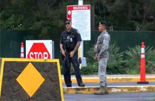 美海军航空基地爆发枪声!12名美军被射倒地,枪手身份让特朗普抓狂