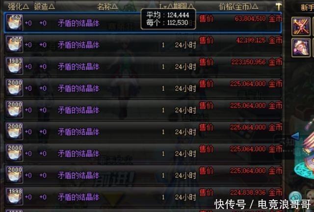 <b>DNF:官方制裁最为致命,黑商一夜之间破产,矛盾价格暴跌!</b>
