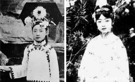 「妇人」婉容皇后年轻时候有多美第1张是仙女,最后1张成枯槁妇人