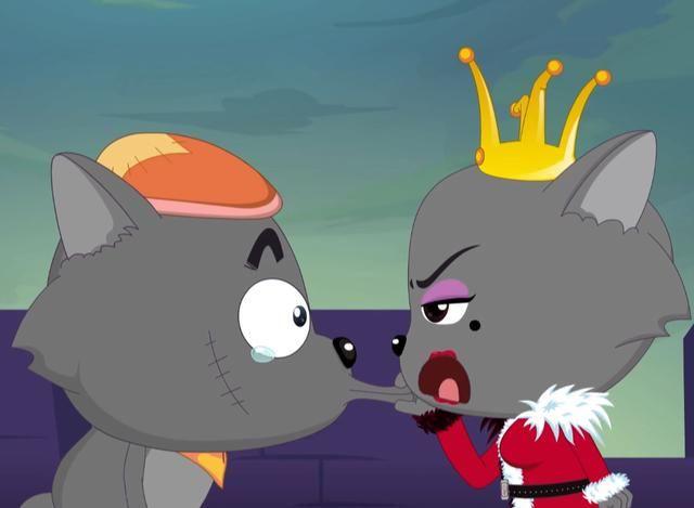 终于看到红太狼吃到羊,灰太狼却慌了